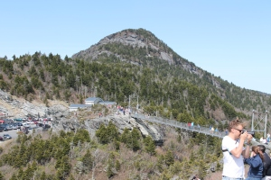 Grandfather Mountain suspension bridge